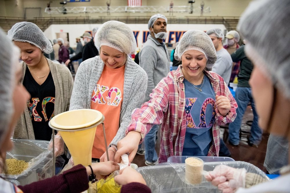 COMMUNITY SERVICE - The philanthropic activities that contribute to a community's welfare. Our members work on behalf of organizations in their own community, as well as our national alliance with Make-A-Wish, and see the results of their efforts.