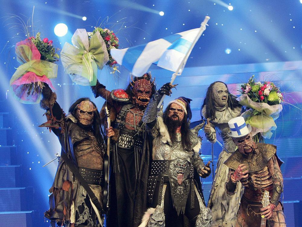Kuva: Lordi - Eurovision 2006