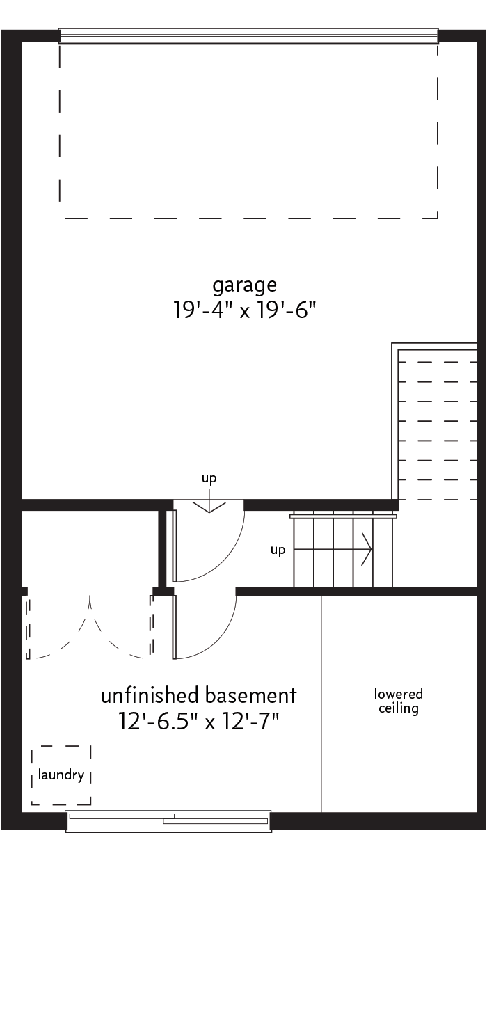BASEMENT LEVEL  |  18 SQ. FT.