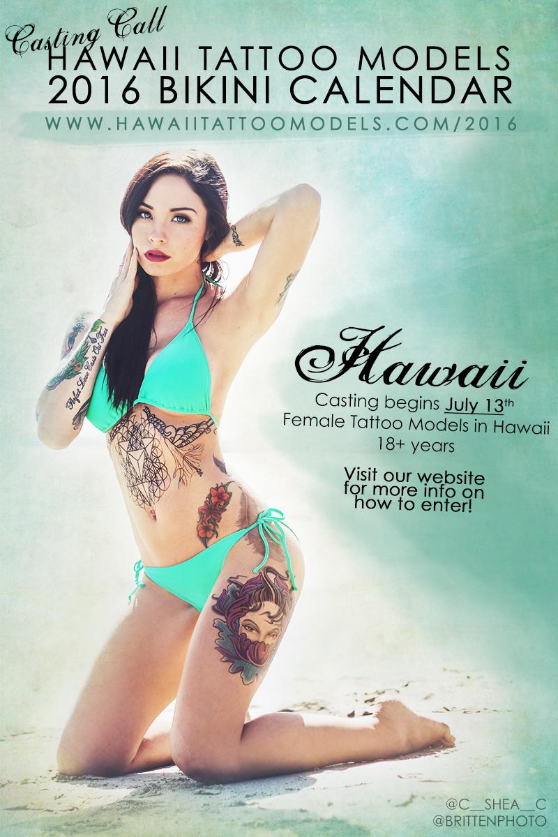 casting Bikini calendar