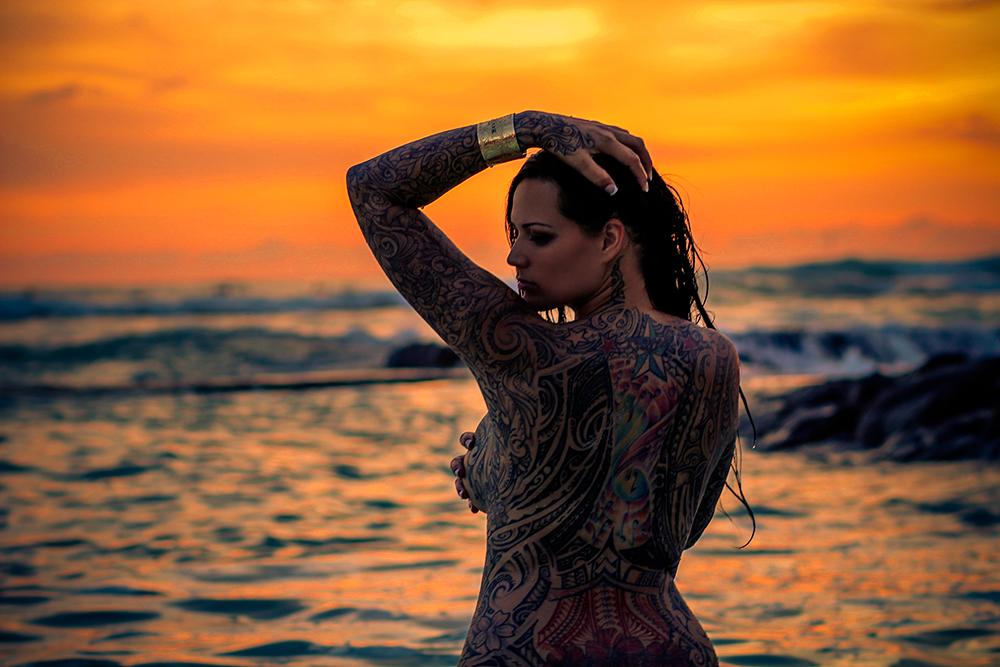 Blog hawaii tattoo models for Hawaii tattoo expo