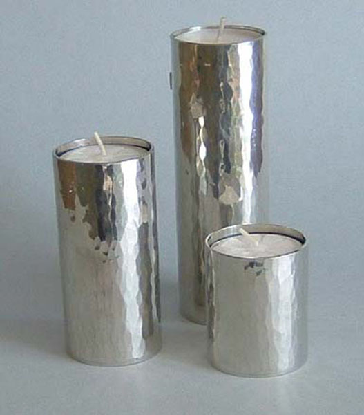 Planished tube candles (CH4P_
