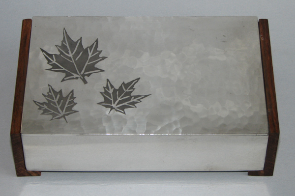 Box with Maple Leaves