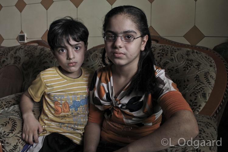 Siblings permanently injured after Israeli air strike on their home
