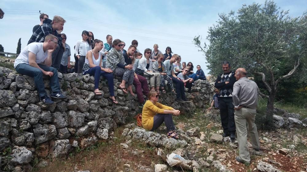 Meeting Palestinian olive farmer Ghazi Afouni