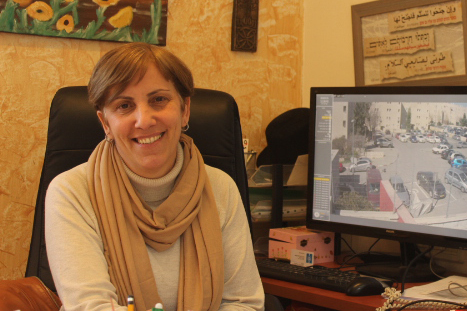 Nadia Kinani headmaster HiH Jerusalem.jpg