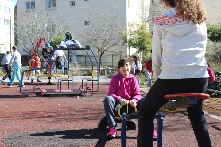 legeplads ved HiH Jerusalem.JPG