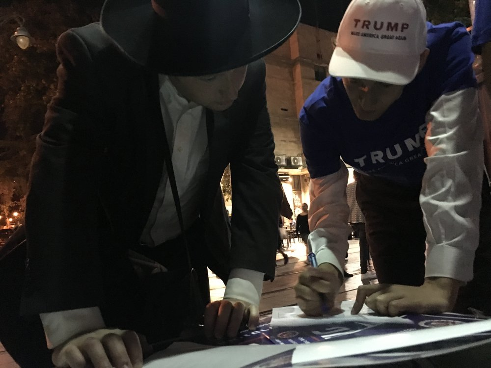 Elizer Roseman w voter.jpeg