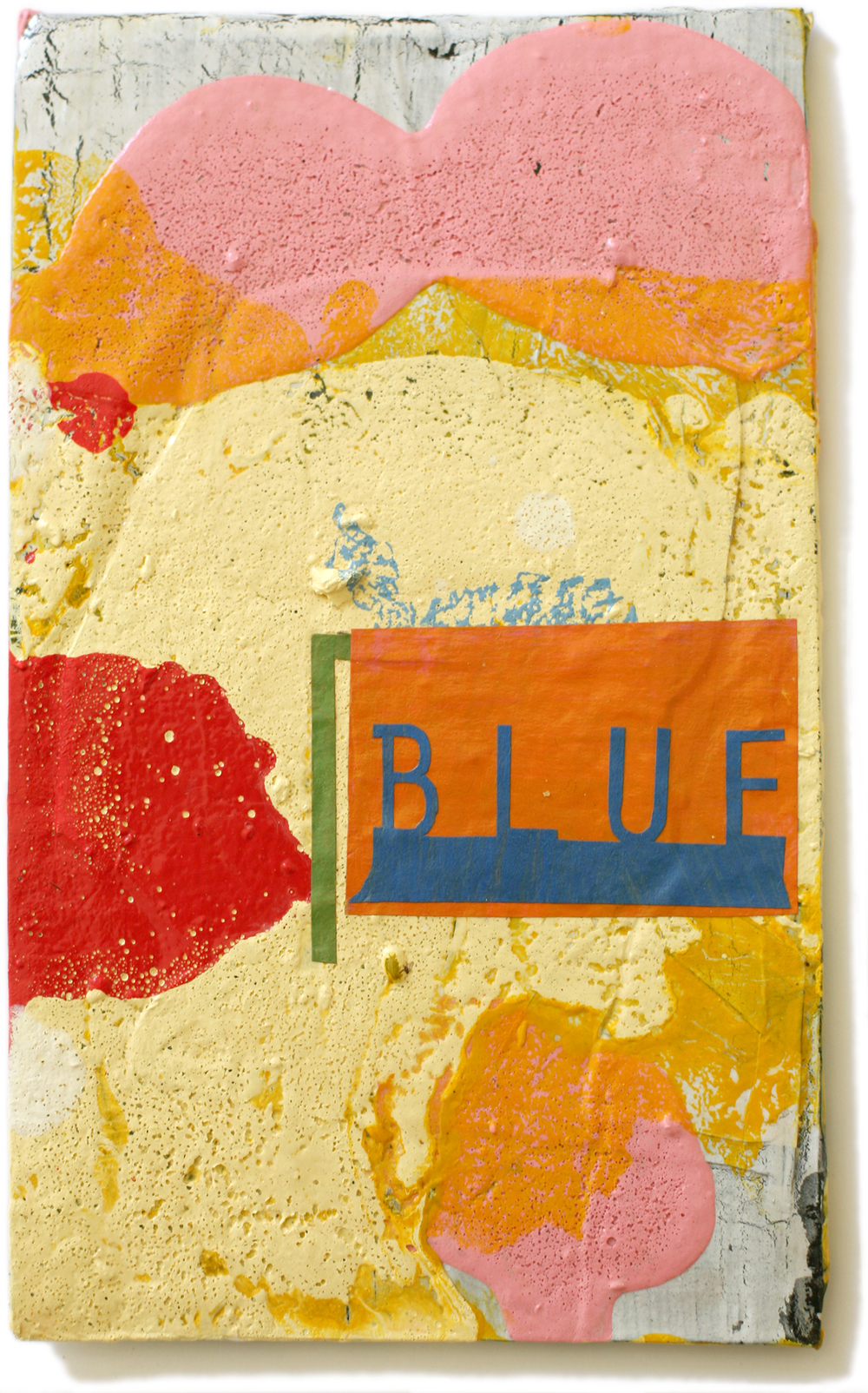 "Blue, 10"" x 6"", 2008-2010 (private collection)"