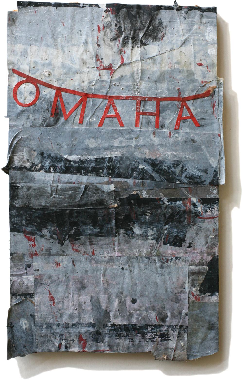 """Omaha, 10"""" x 6"""", 2008-2010"""