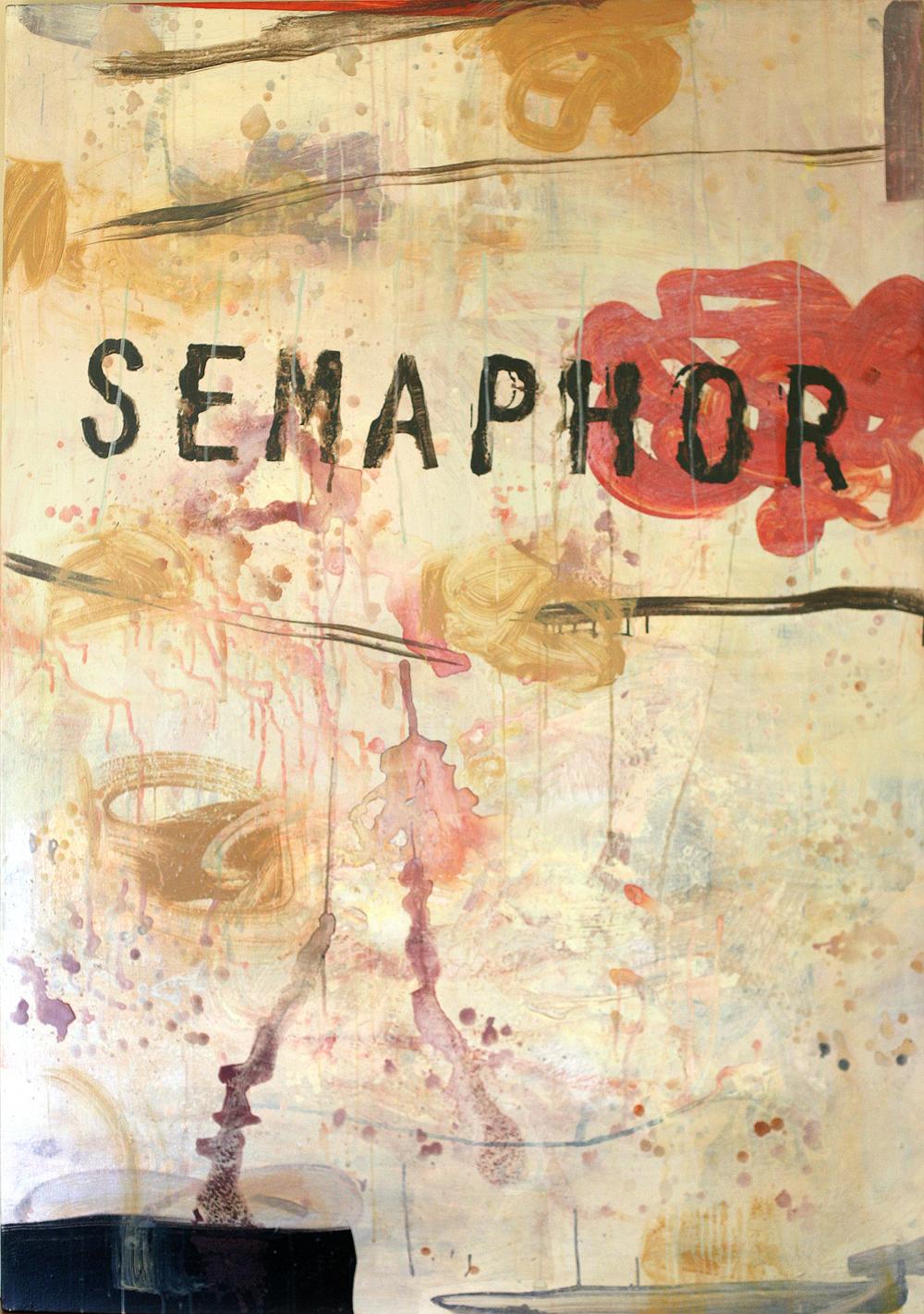 Semipro(e), acrylic on canvas