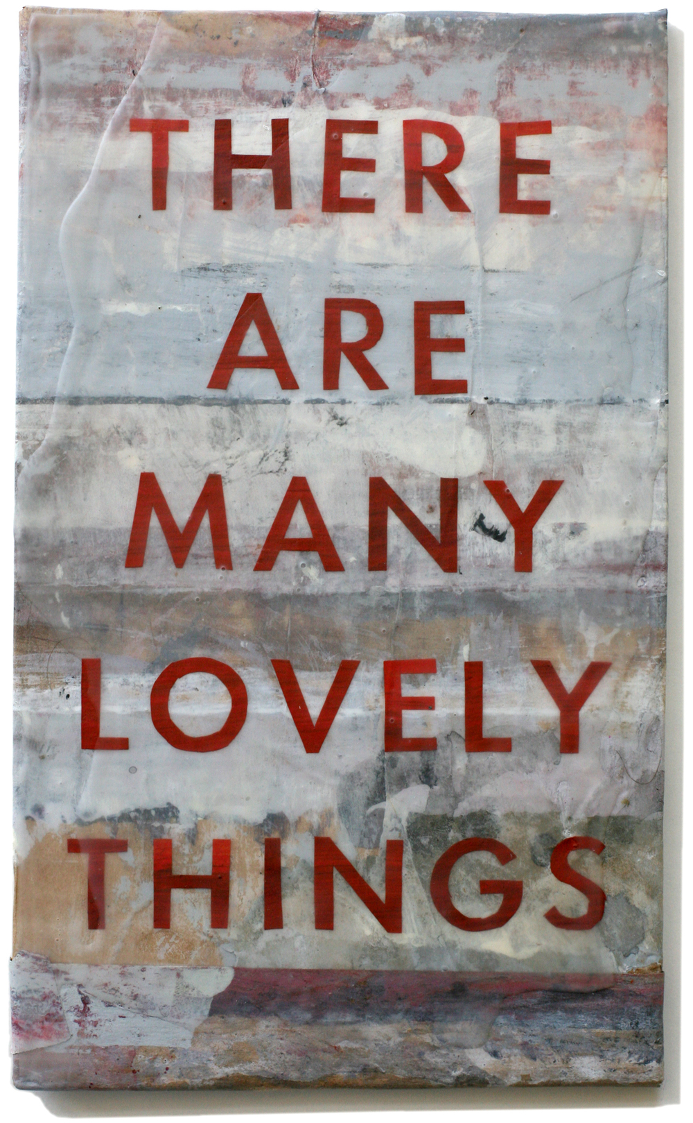 "Lovely Things 32, 10"" x 6"", 2008-2010 (private collection)"