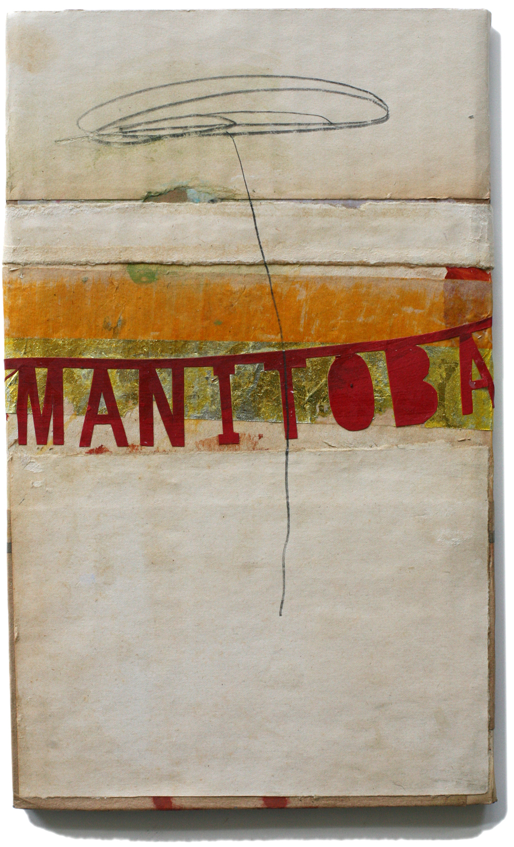 "Manitoba, 10"" x 6"", 2008-2010 (private collection)"