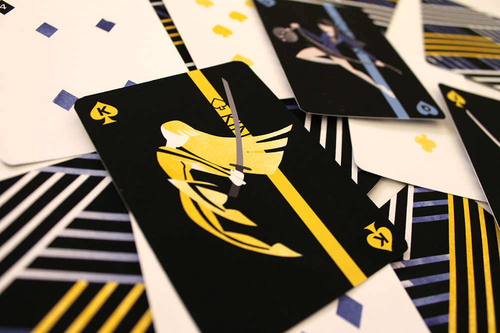 Kill Bill Playing Cards