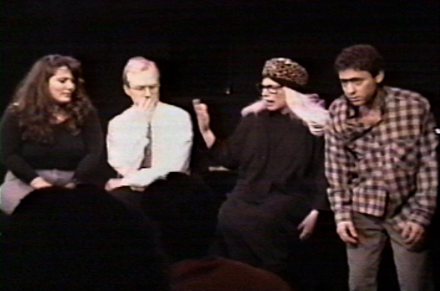 As Jo-Jo The Monkey Boy for Gotham City Improv (8/28/93)