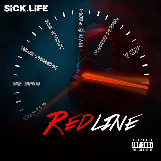 """**New Sick.Life EP** """"RedLine"""" Out Now!!! Link in Bio!!! __ __ #newmusic #sicklife #itsallgoodep #spotify #indiemusic #indieartists #hiphop #rap #texasmusic"""