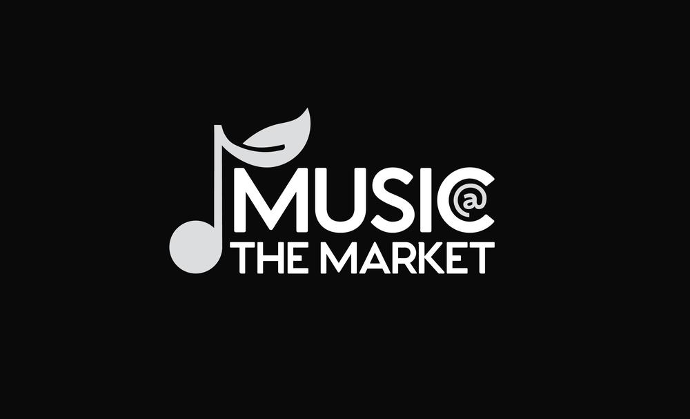 Music @ the Market, Live Music Program (Art Direction Only, Design by Julian Rucker)