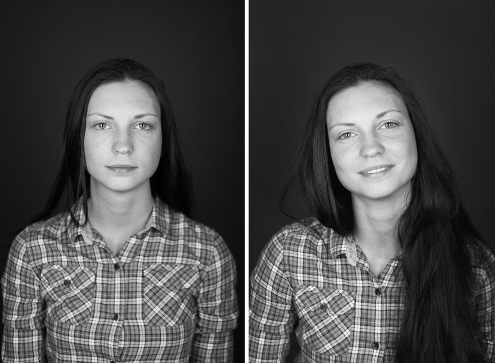 Portrait of participant, Sasha, by Eric Halberstadt.