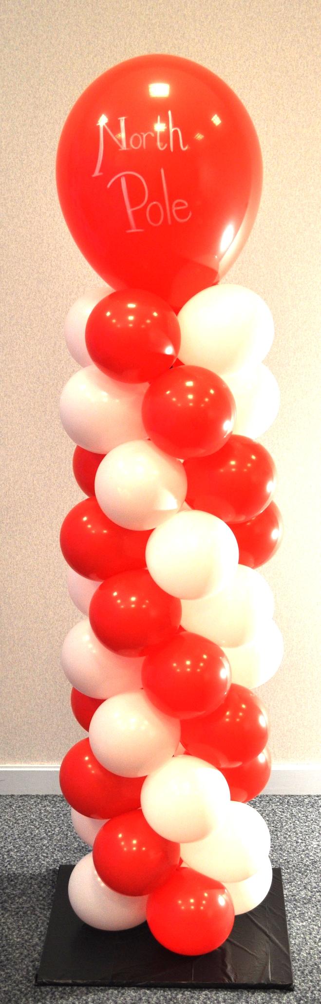 Balloon North Pole