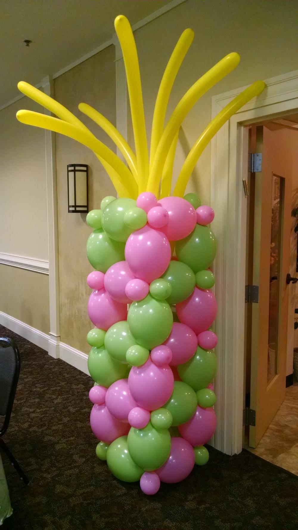 Tropical balloon column