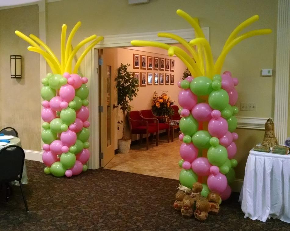 Tropical balloon columns