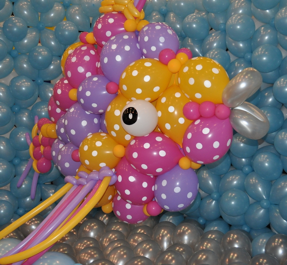 Balloon tropical fish
