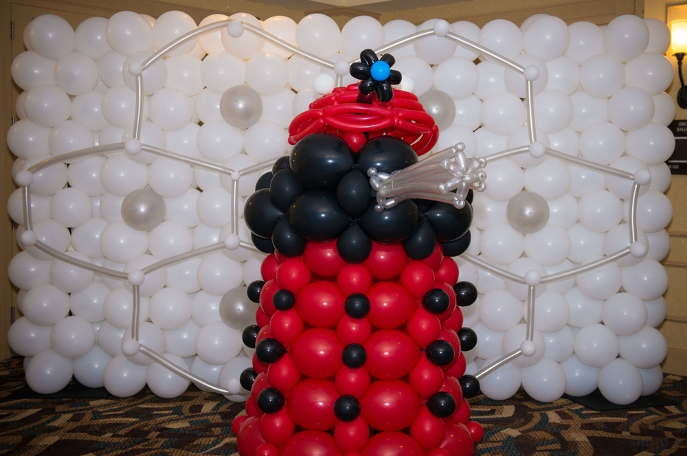 Doctor Who Bar Mitzvah balloon Dalek