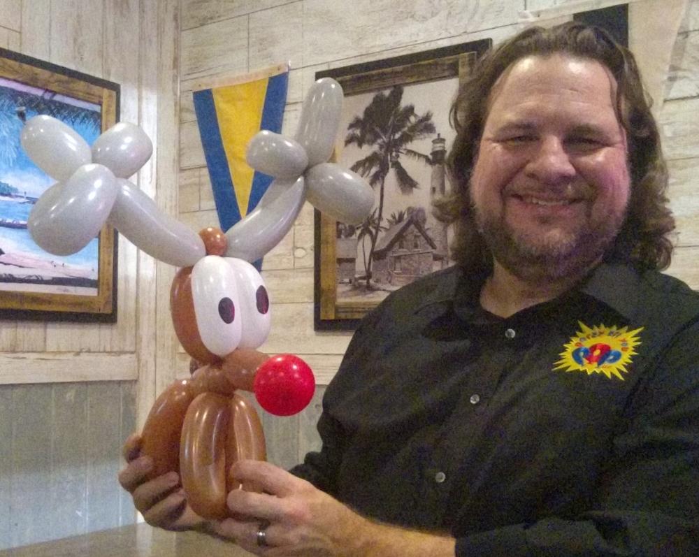 Balloon Rudolph