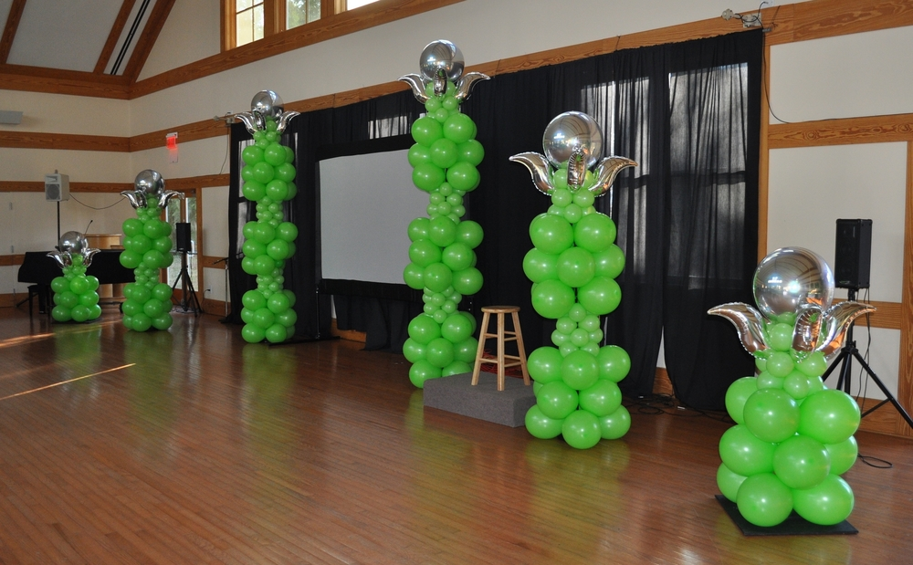 Balloon decor for UUMAN's 25th Anniversary