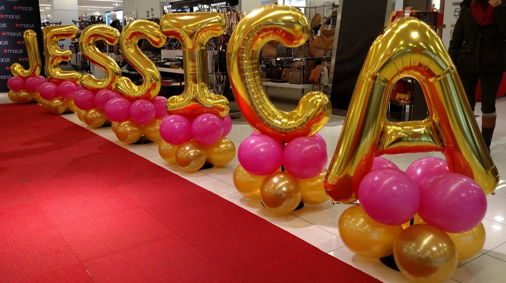 Balloon Name Red Carpet