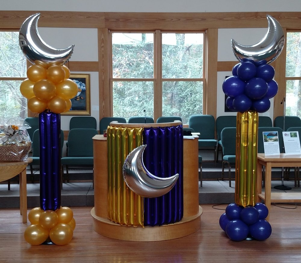 Moon Themed Balloon Decor