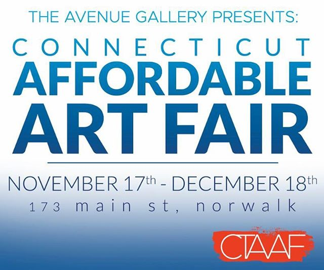 The CT Affordable Art Fair launches tonight in Norwalk CT! Join us and discover new and unique work priced between $100-$3,500! #affordableartfair #affordableart #affordable #stamford #greenwich #norwalk #norwalkct #art #artshow #gallery #artgallery #openingnight