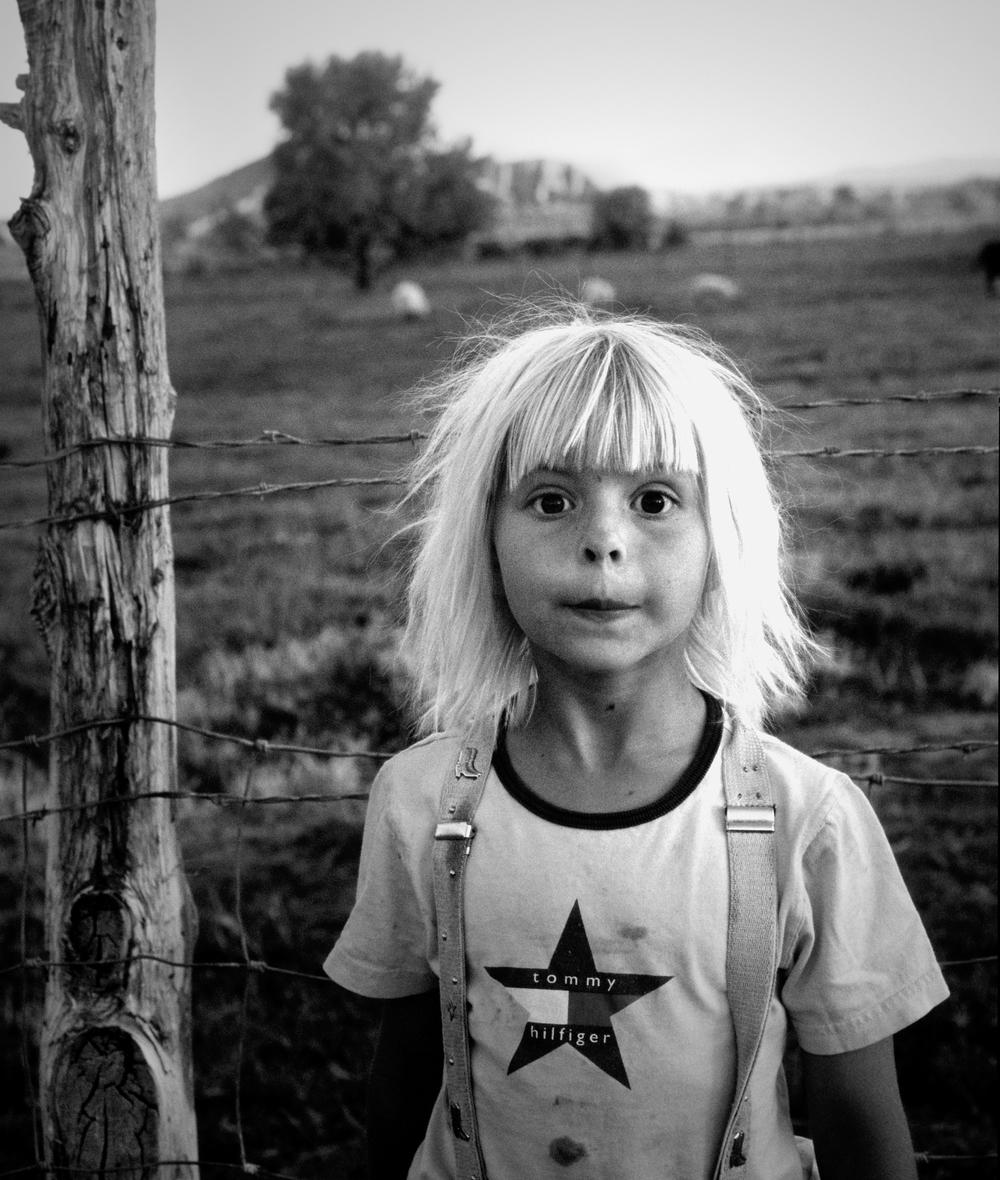 Little girl. Panaca, Nevada