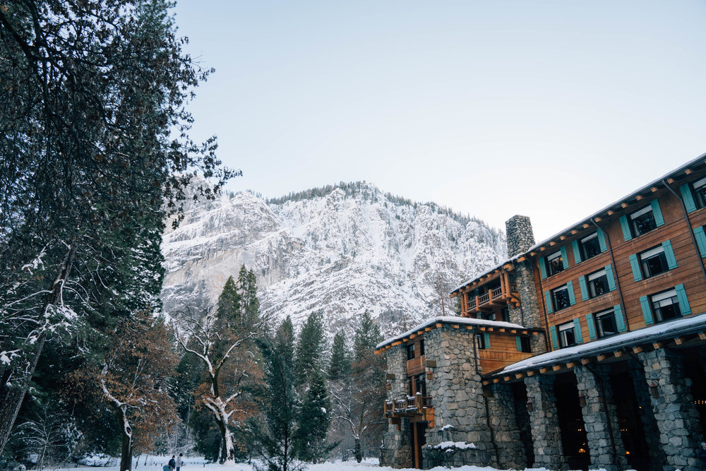 The Majestic Yosemite Hotel -- The oldest hotel in Yosemite National Park