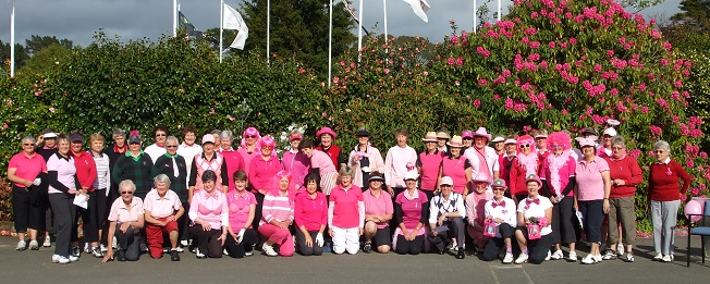 Women's charity foursomes - supporting breast cancer awareness
