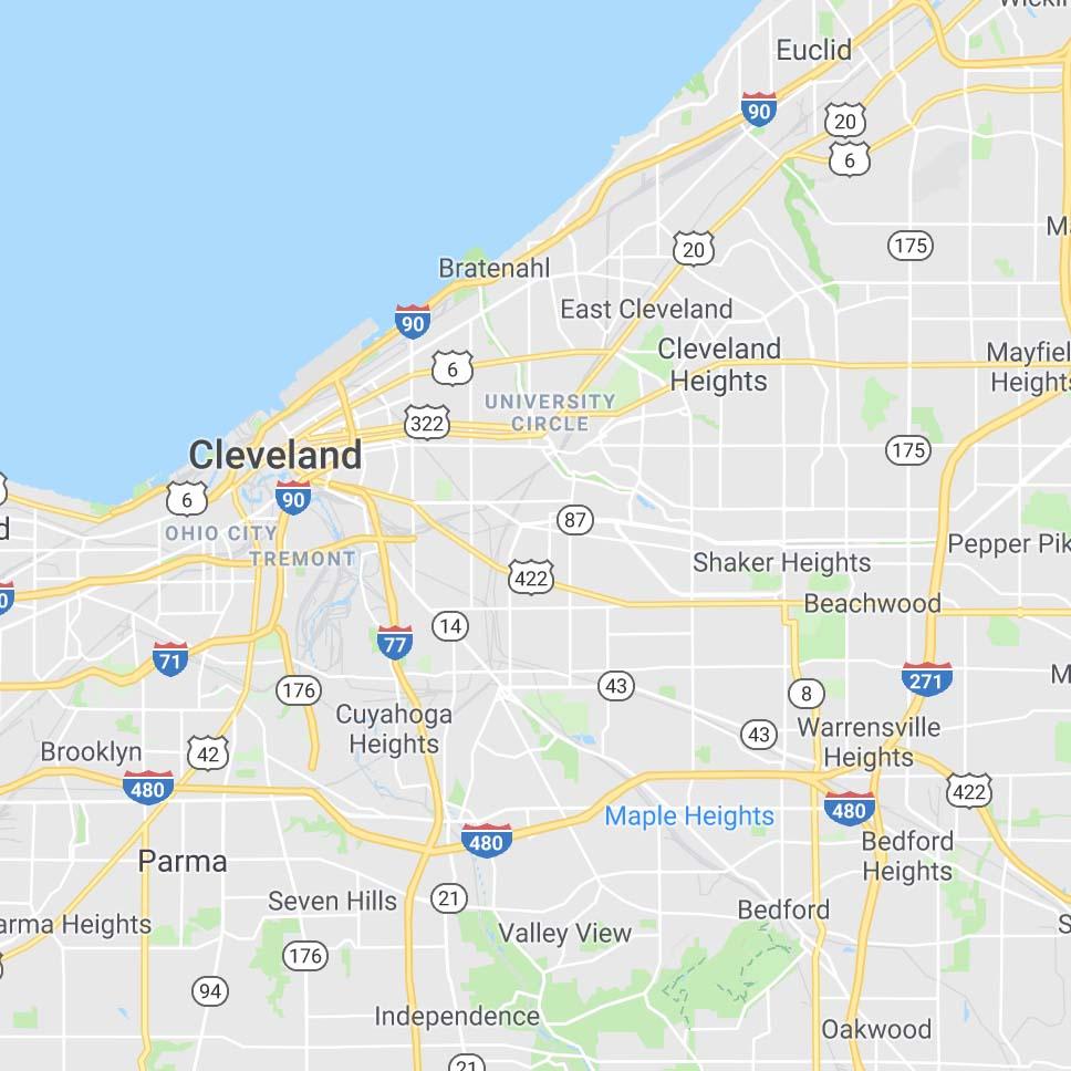 Cleveland, Ohio - Spring 2019