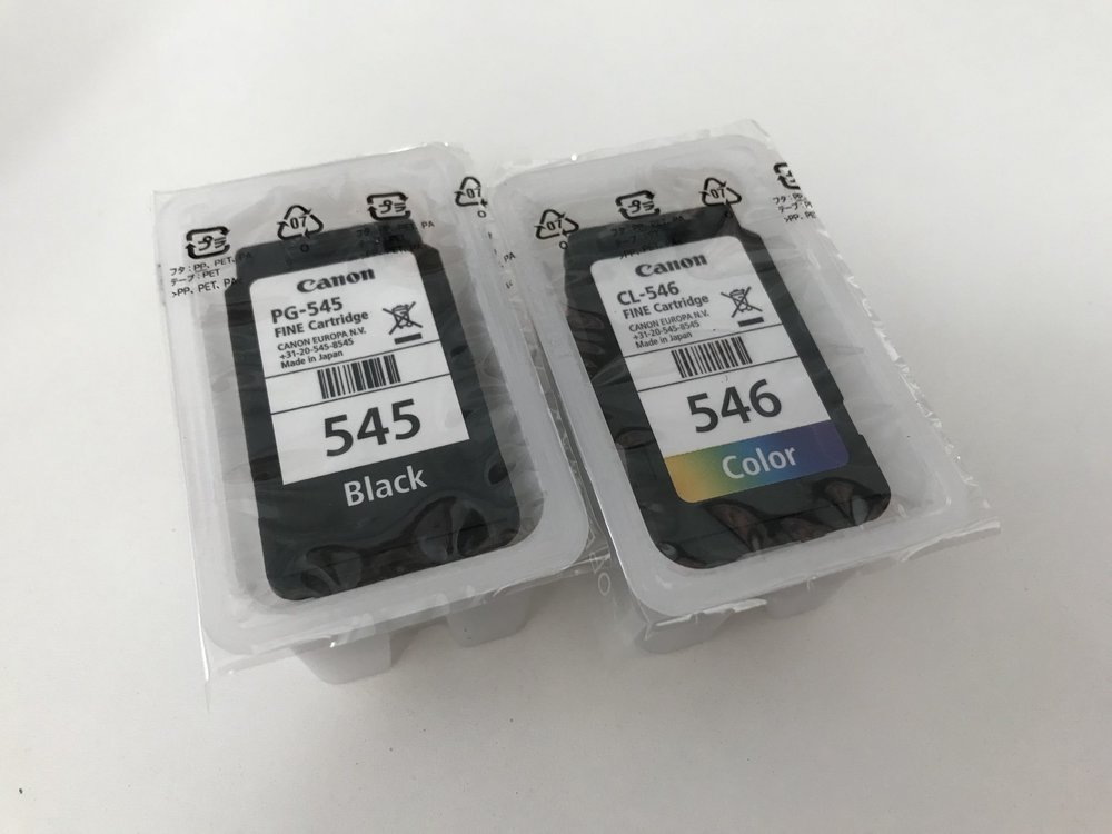 Ironically, the plastic packaging of the ink cartridges were made of thicker and more durable plastic than the printer itself.