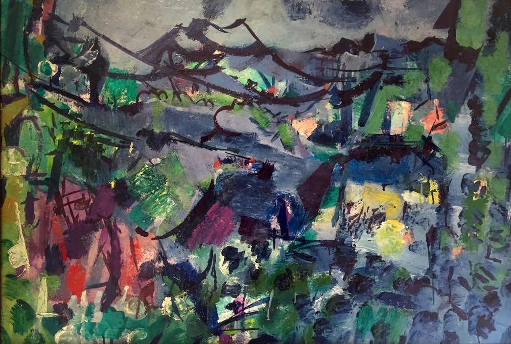 Untitled, ca. 1950–1959   Medium: Paintings, Oil on board  Size: 26 x 37 in. (66 x 94 cm.)