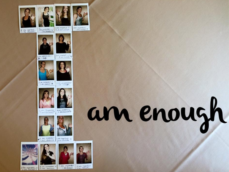 I am enough pledge