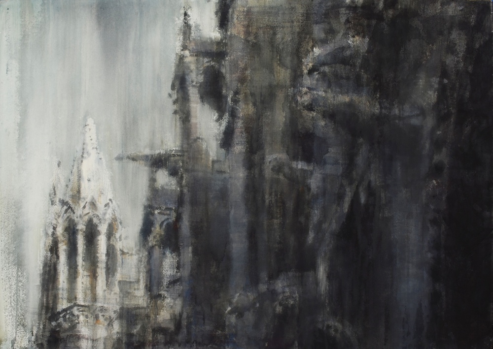 Notre Dame III, Paris, 29x41 inches