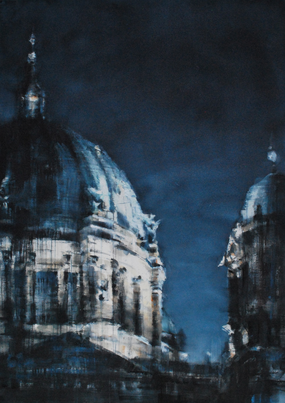 Berliner Dom, 37x52, SOLD