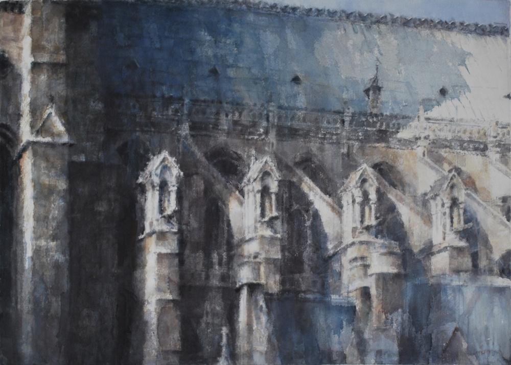 Notre Dame, Paris, 41x29 inches
