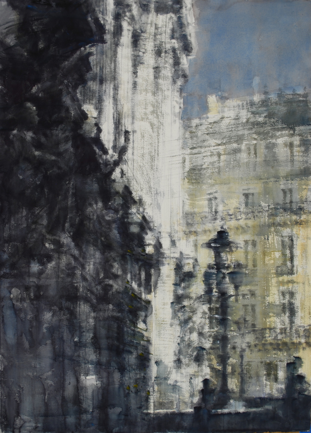 Paris Opera House, 37x51 inches