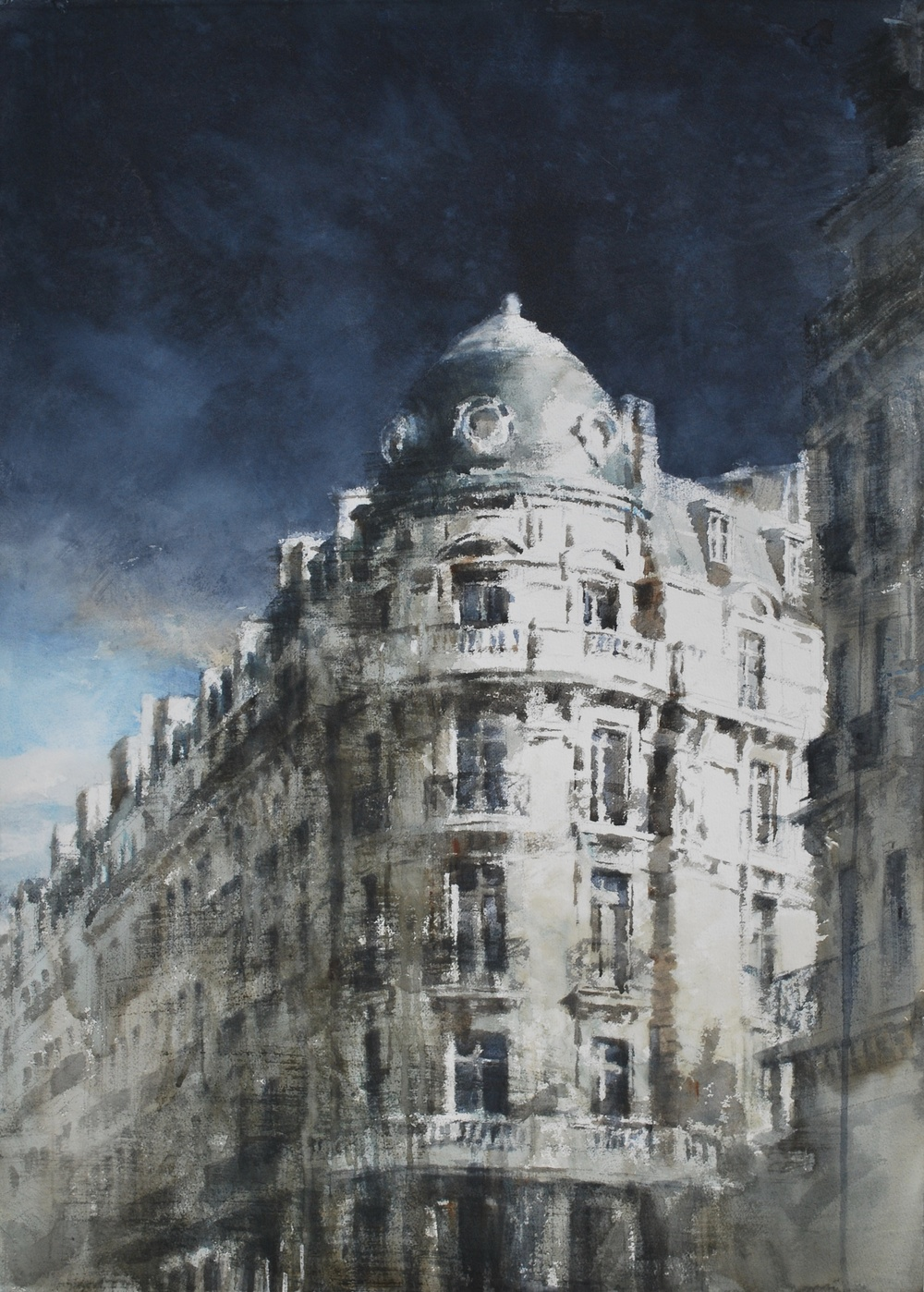 Paris, 41x29 inches, SOLD