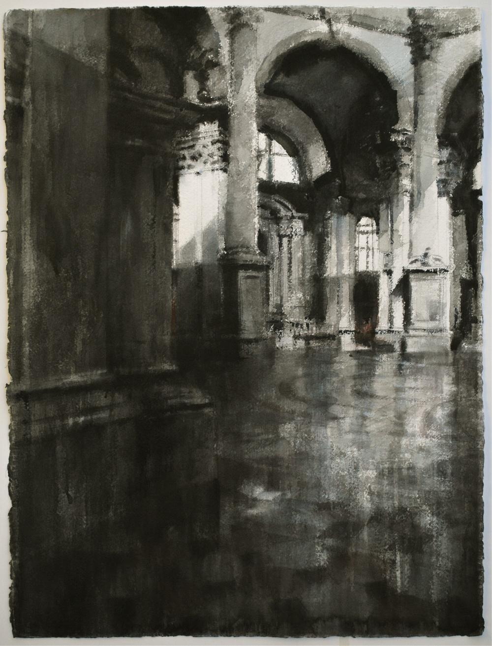 Santa Maria Della Salute, 22x30 inches, (Private Collection)