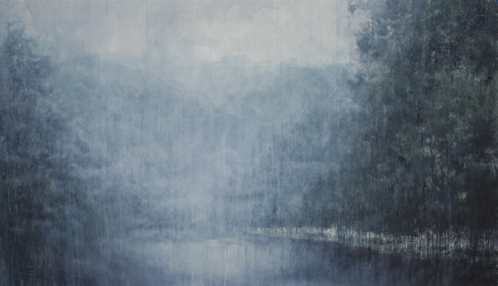 Lonesome Journey VIII, 45x77 inches