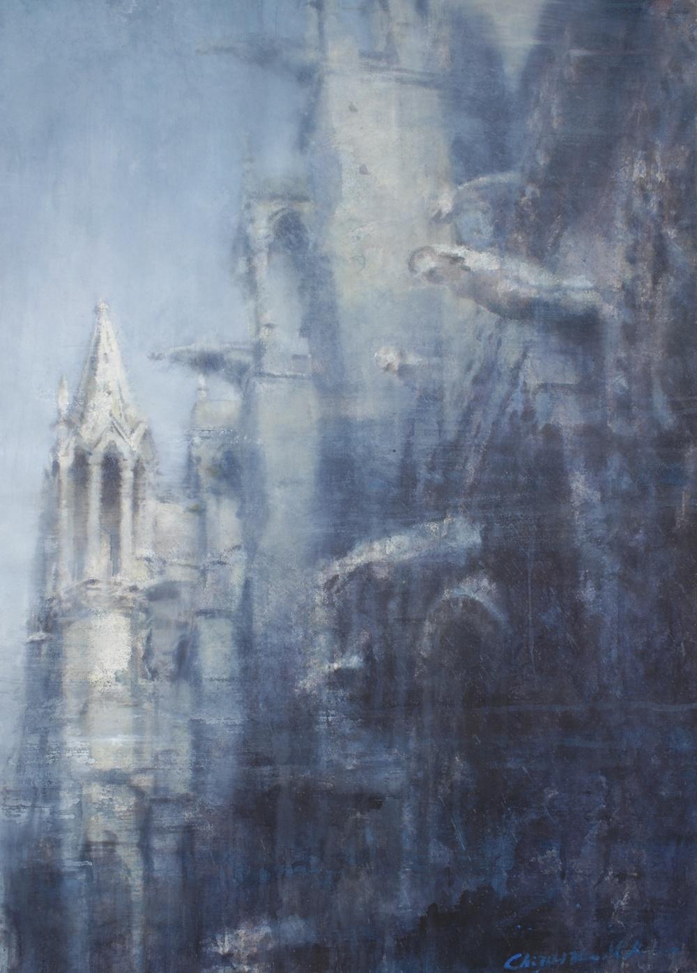 Notre Dame II, Paris, 29x41 inches