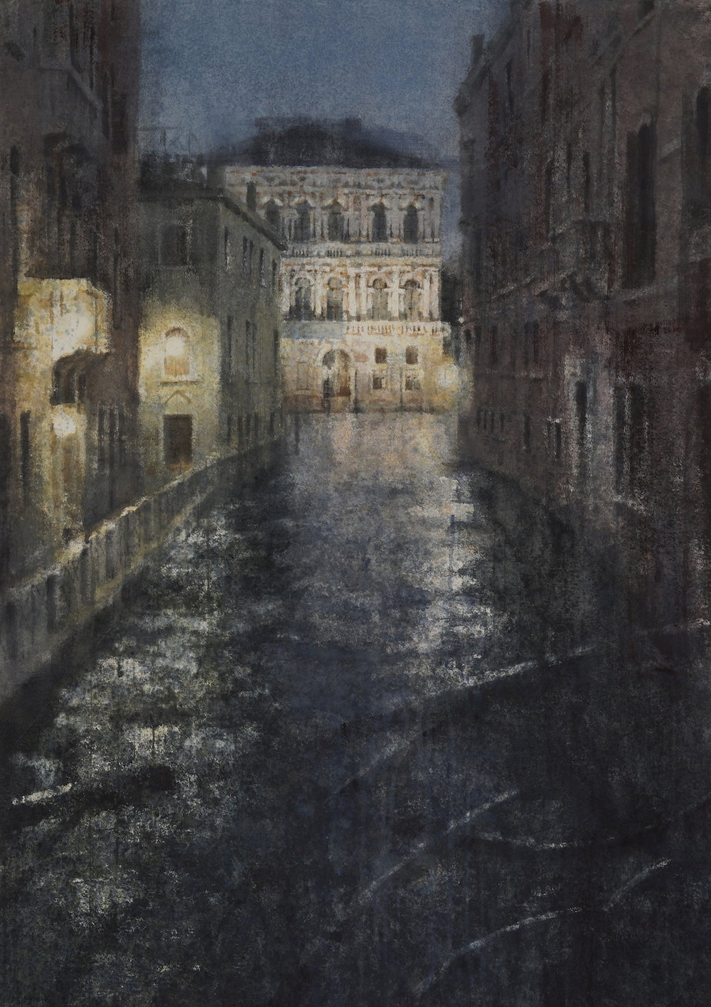 Venice I, 41x29 inches, (Private Collection)