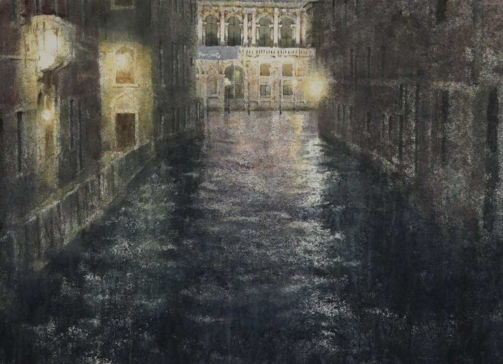Venice II, 44.5x60 inches, (Private Collection)