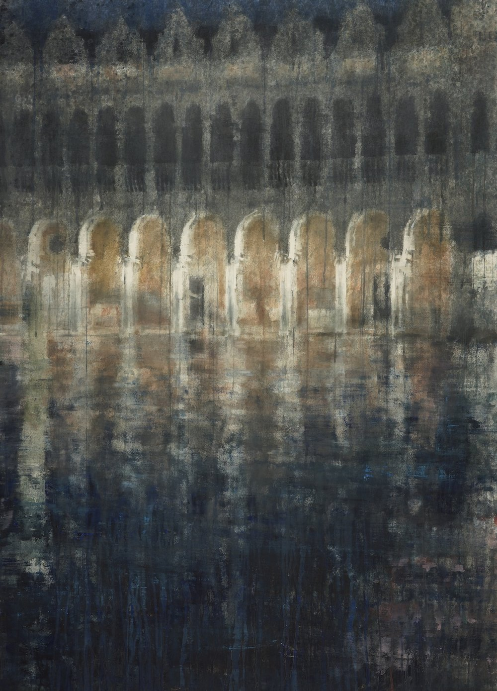 Venice III, 62x45 inches, (Private Collection)